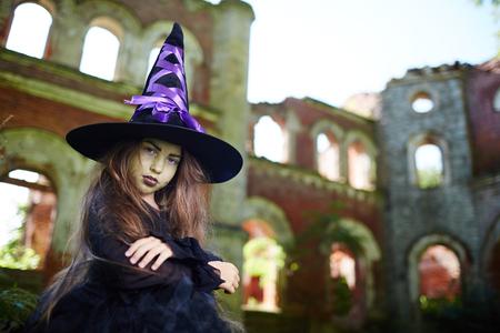 Gloomy witch