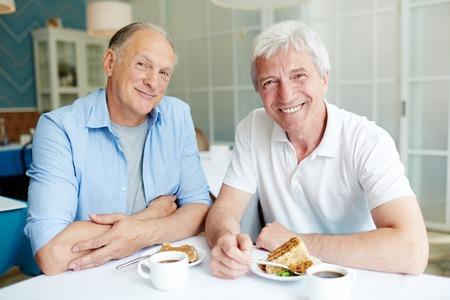 Portrait of Joyful Senior Friends