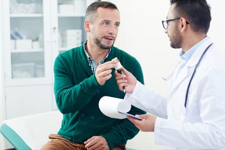 doctor Advising pills