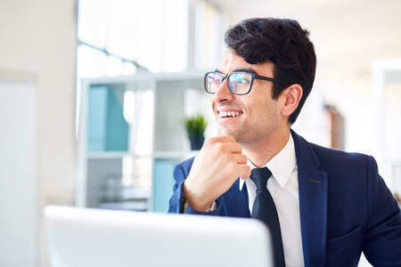 Business working in office Stock Photo