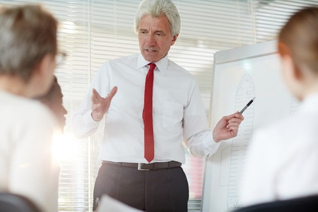 Confident investigator Stock Photo