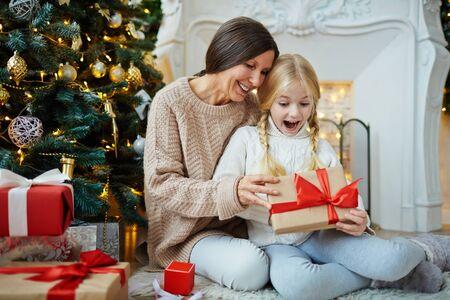 クリスマスのためのサプライズ 写真素材