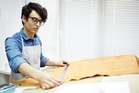 Measuring piece of fabric