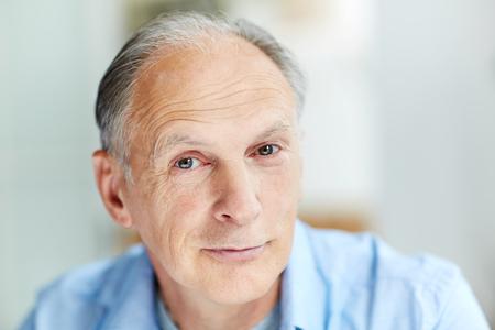 Man van hogere leeftijd Stockfoto