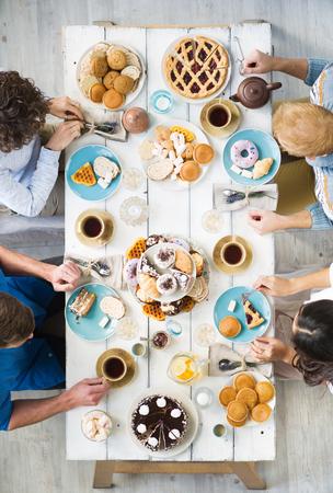 Vrienden per tafel