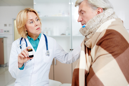 Doctor recommendation Stock Photo
