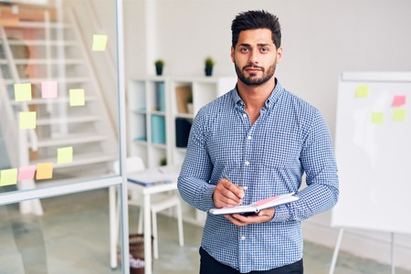 Manager in office Stock Photo