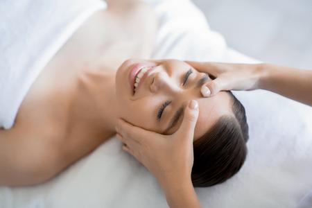 Facial treatment 写真素材
