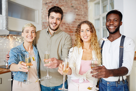 Toast for you Stock Photo