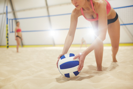 Player with ball Banco de Imagens