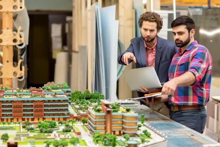 Nieuwe gebouwen bespreken