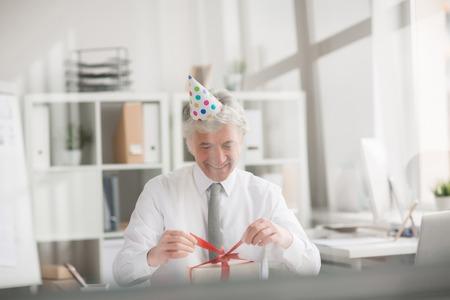 プレゼントを見るのが待ち遠しい