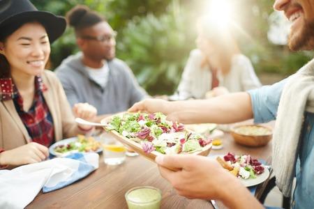 友人のためのサラダ