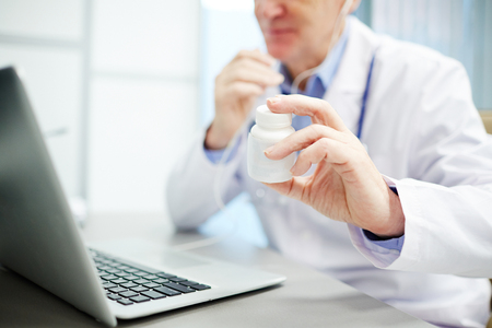 Medical recommendation Stock Photo