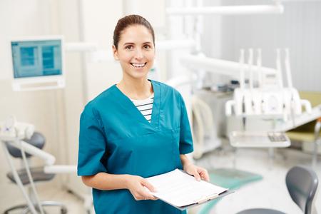 Inviting next patient Stock Photo