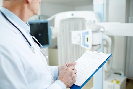 Applying medical form Фото со стока