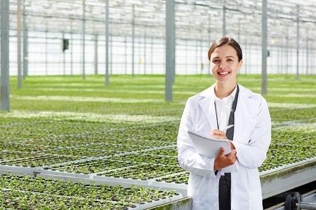 Female agro-engineer