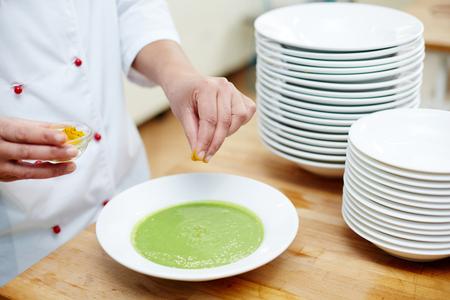 Seasoning soup