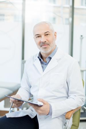 Doctor in clinics Фото со стока