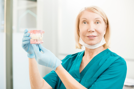 Modern dentist Stock Photo