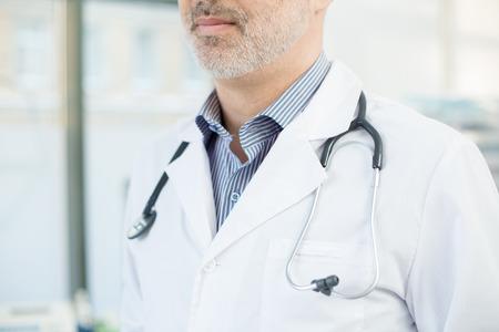 Doctor in whitecoat