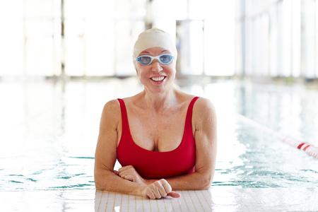 Female in water
