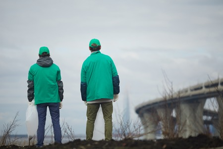 Two greenpeacers 写真素材
