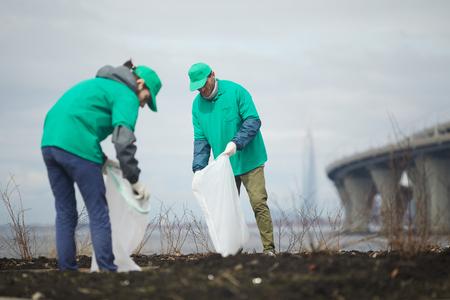 Limpieza ambiental Foto de archivo - 102047150