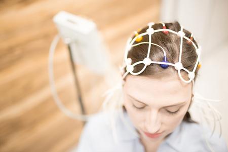 Electroencephalogram Stockfoto