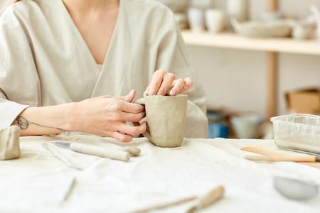 Self-made mug