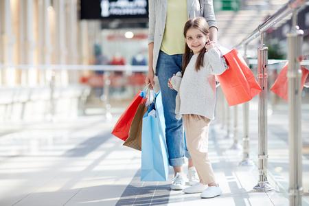 Adorable shopper Stock fotó