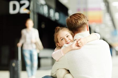 Dad and daughter Zdjęcie Seryjne - 104789137