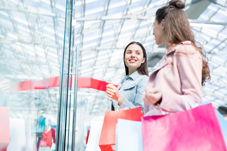 Shopping advice Reklamní fotografie