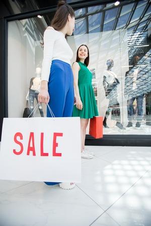 Sale shopping Reklamní fotografie