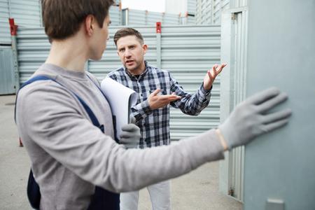 Misunderstanding client talking to storage worker