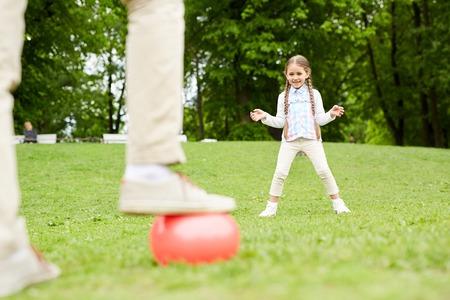 Catching ball 写真素材