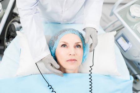 Warming massage 스톡 콘텐츠