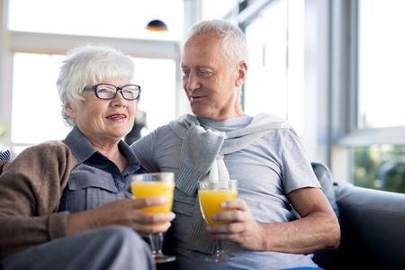 Modern Seniors Enjoying Life