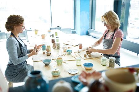 Creating earthenware