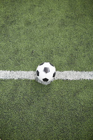 Ball for playing soccer