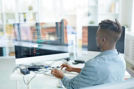 Developer at work