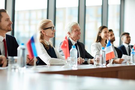 Foreign participants Stok Fotoğraf