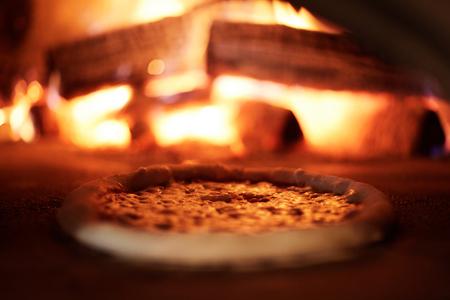 Pizza rösten