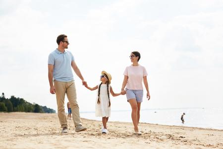 Family chill Standard-Bild