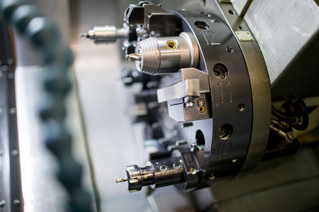 Modern lathe machine