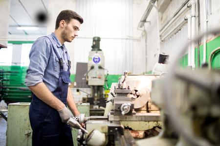 Mechanic engineer at work Reklamní fotografie