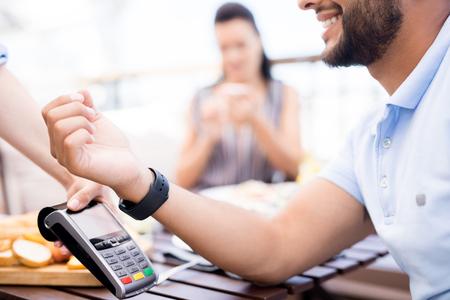 Modern payment Stockfoto