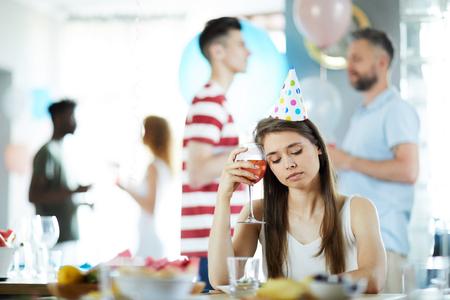 パーティーにうんざり