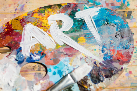 Art of colors Stock Photo