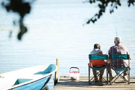 Fishing on weekend